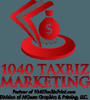 1040 Tax Biz Print Logo