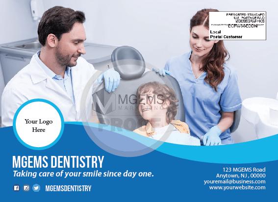 Graphic Design Sample - Dental Postcard