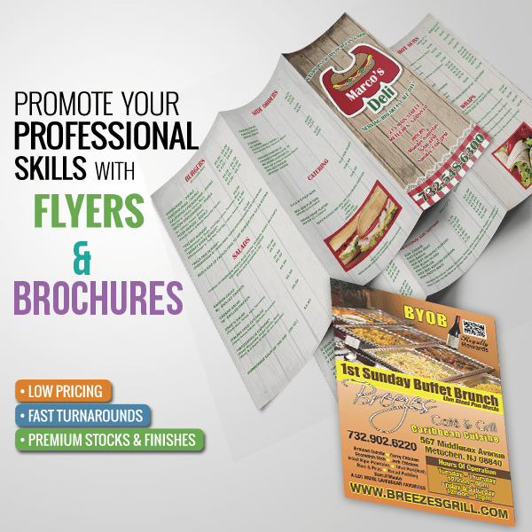 Print Products - Flyers