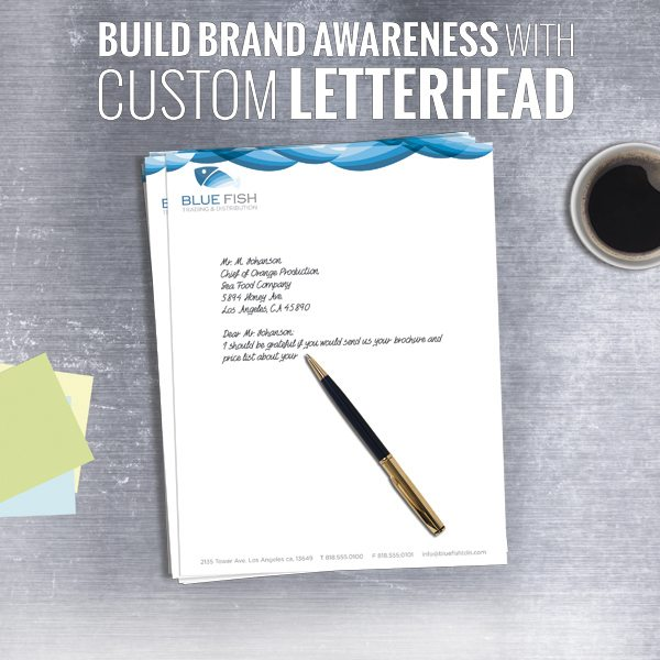 Print Products - Letterheads