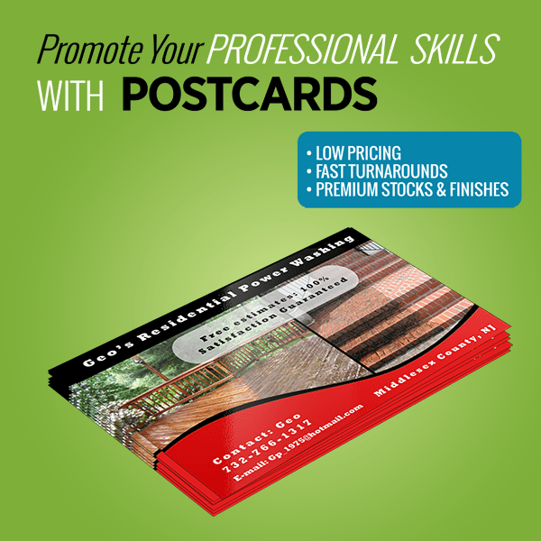 Print Products - Postcards