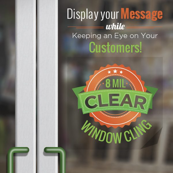 Wide Format Products - Window Graphics