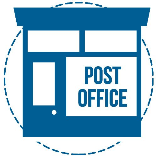We Deliver Your Mailers to the Post Office icon