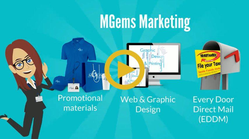 MGEMS Graphics and Printing LLC Video Animation