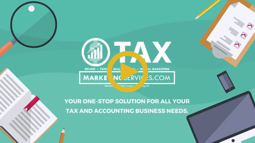 Tax Marketing Services Video Animation